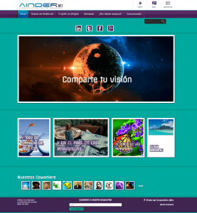 Web de Ainder.net