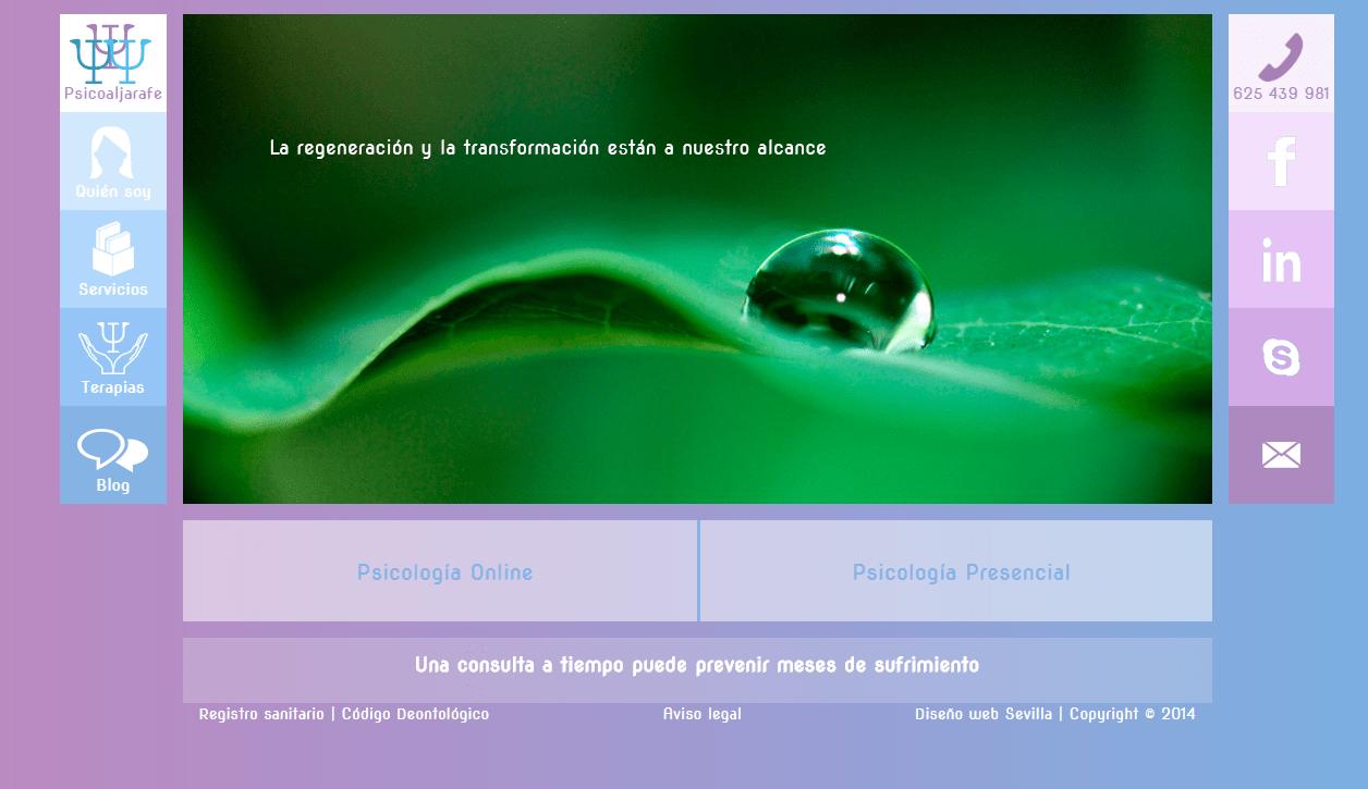 Web de la consulta de psicoaljarafe